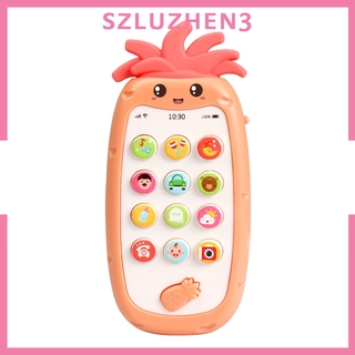 [SmartHome ] Mobile Phone Toy Children Baby Kids Play Cell Phone Learning Fun Gift