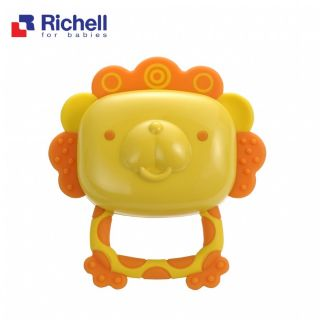 Xúc xắc gặm nướu sư tử Richell
