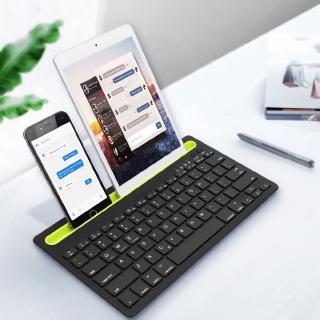 Bàn Phím Bluetooth Không Dây 3.0 Cho Pc Laptop Android Macbook Ipad thumbnail