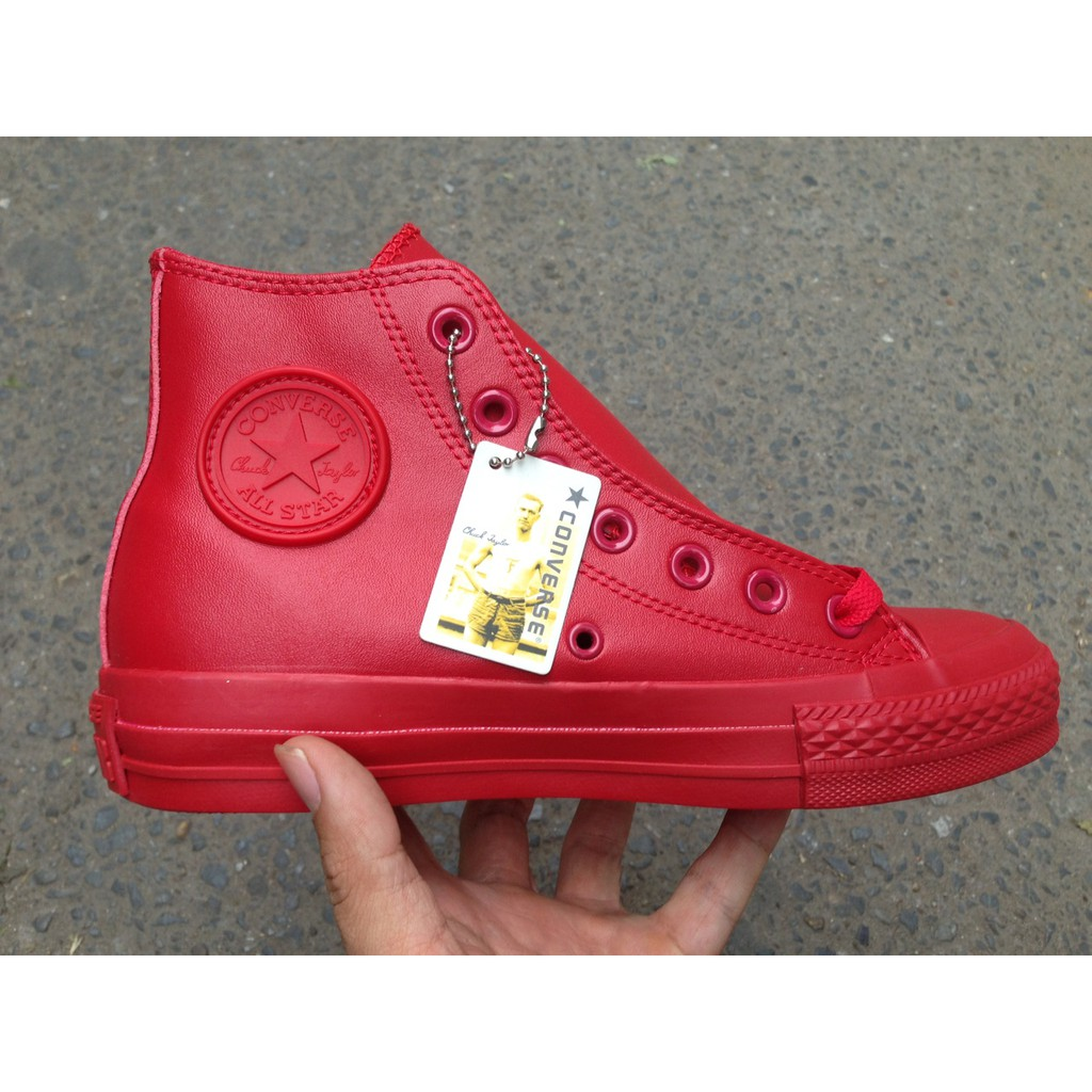 [FULL BOX + FREE SHIP] Giày Converse Chuck Taylor All Star Rubber màu Full đỏ - 2624517 , 663238657 , 322_663238657 , 400000 , FULL-BOX-FREE-SHIP-Giay-Converse-Chuck-Taylor-All-Star-Rubber-mau-Full-do-322_663238657 , shopee.vn , [FULL BOX + FREE SHIP] Giày Converse Chuck Taylor All Star Rubber màu Full đỏ