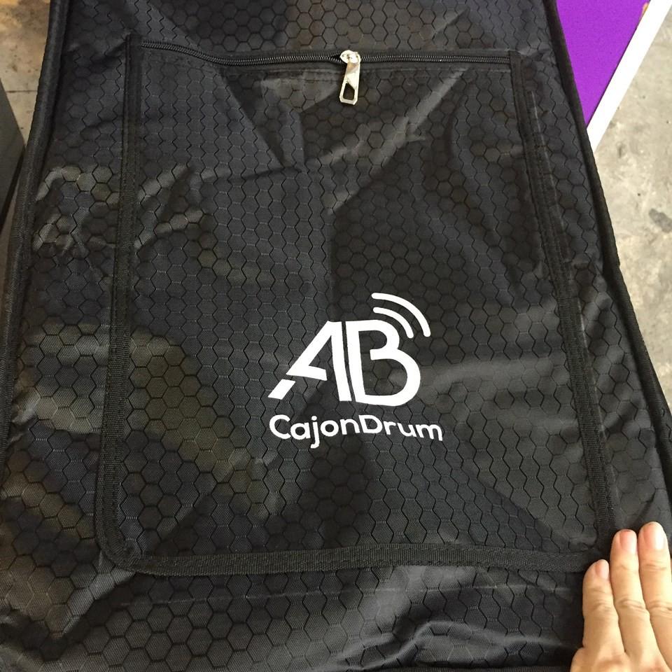Trống Cajon AB Drum có tay chỉnh - Tặng bao, miếng lót êm mông.