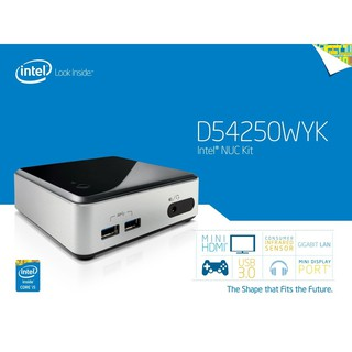 Intel Nuc D54250WYK I5 Gen4, Ram 4G, SSD 120G, HDMI xem phim 4K