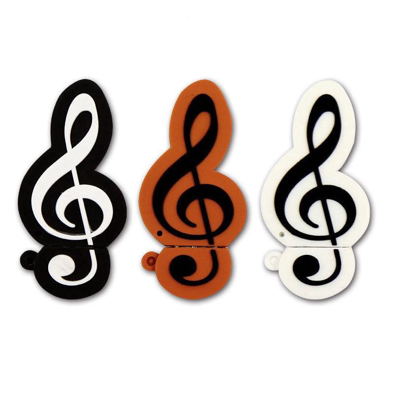 Cartoon Music note Usb flash drive 8GB 16GB 32GB Musical notation Pen drive Giá chỉ 170.000₫