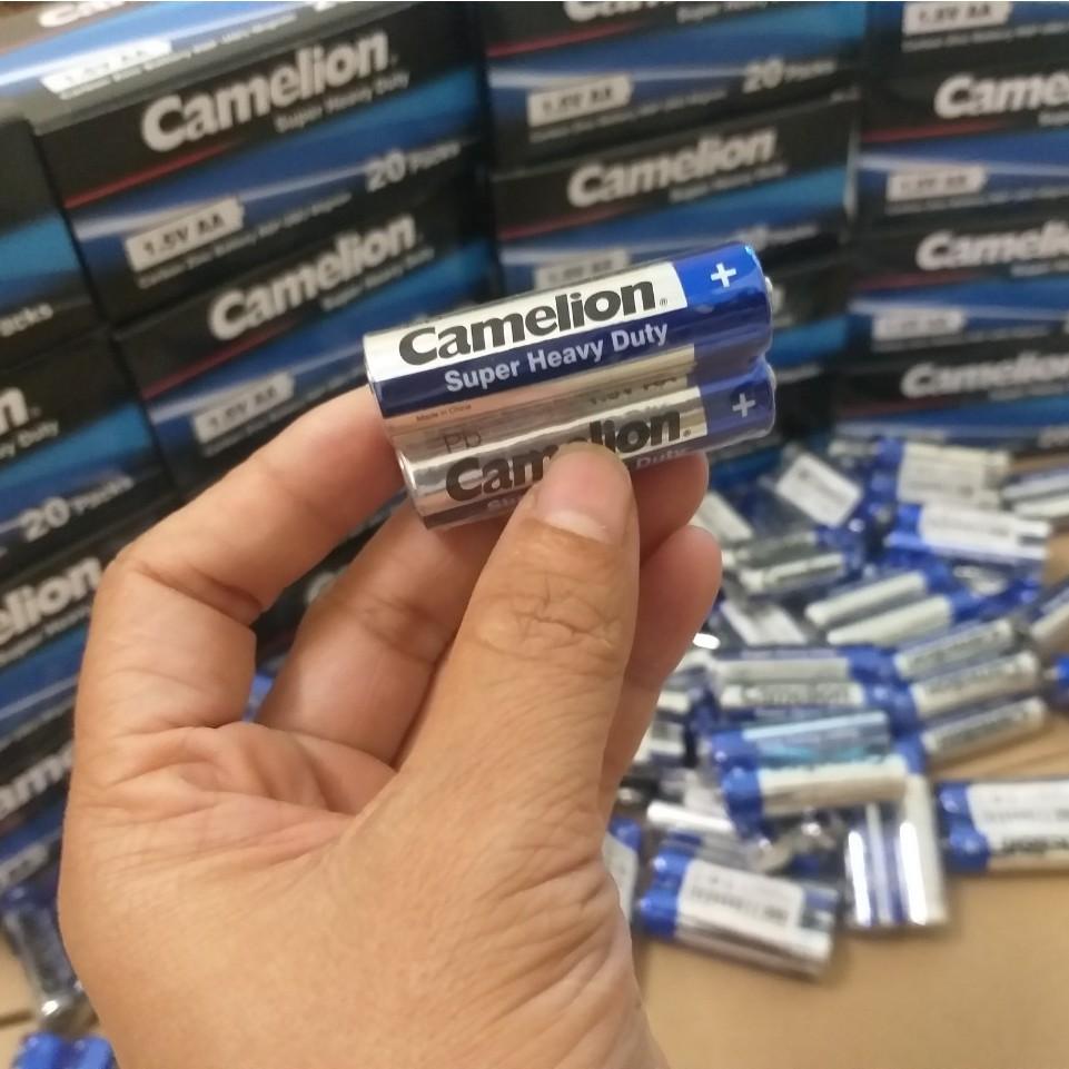 [CHÍNH HÃNG]  20 VIÊN PIN AA, AAA  CAMELION ( 1.5V) R6P/R03P CAMELION PIN THAN CARBON  PIN TIỂU, PIN ĐŨA 2A, 3A