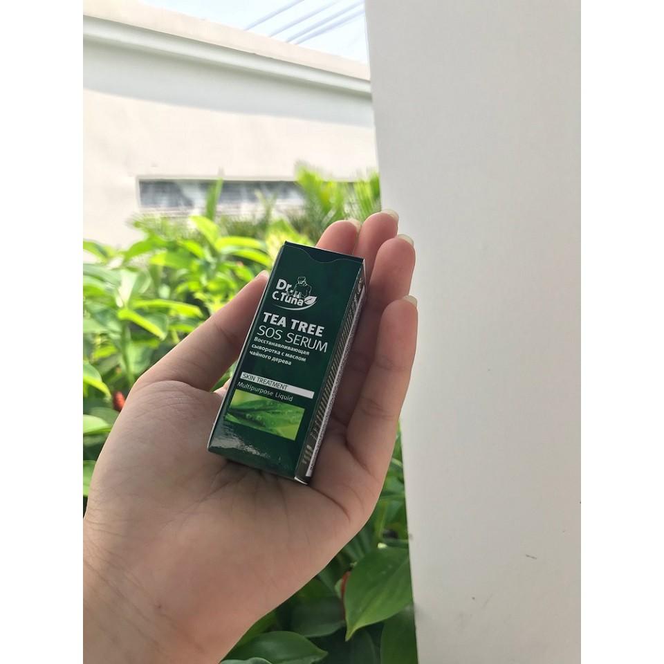 Serum Trị Mụn Cấp Tốc Tea Tree Sos Farmasi (1824) 10ml