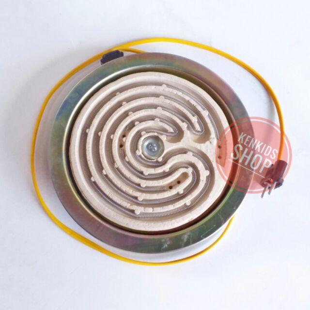 Bếp điện lò xo tròn lớn 21cm