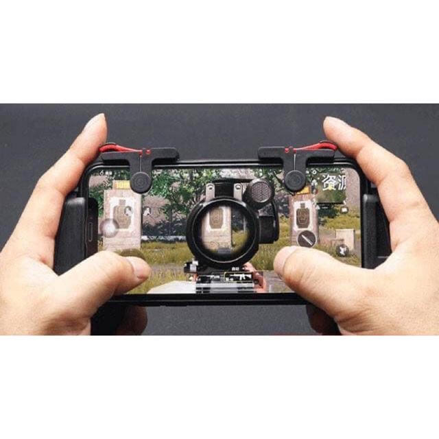 nút chơi game PUBG - bộ 2 nút chơi PUBG cực nhạy