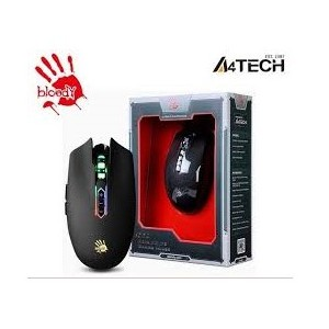 Chuột Gaming A4Tech Bloody Q80 Neon X-Glide 3200 DPI - Hàng Chính Hãng