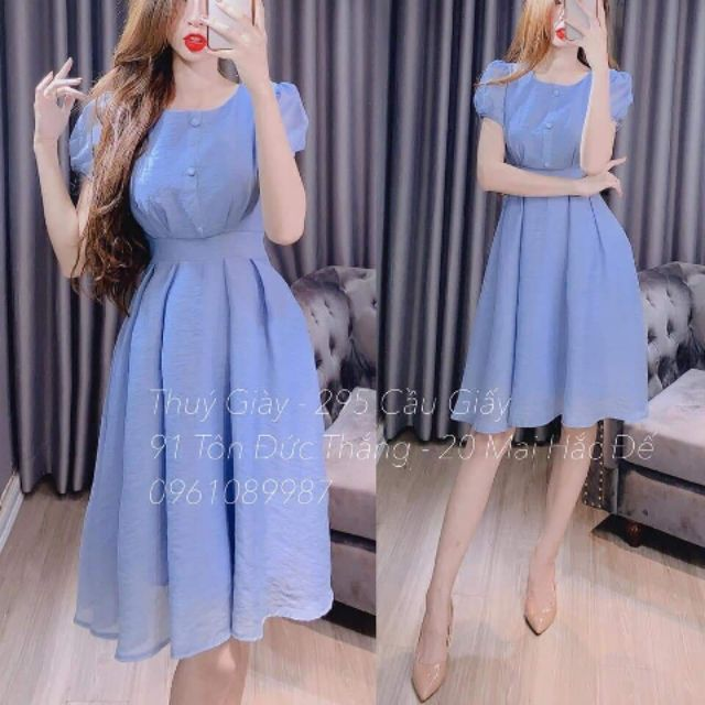 (Hàng Đẹp giá Rẻ) váy tơ