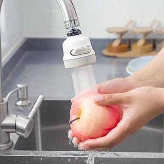 Đầu vòi tăng áp 3 mức độ cho bồn rửa chén - màu trắng thumbnail