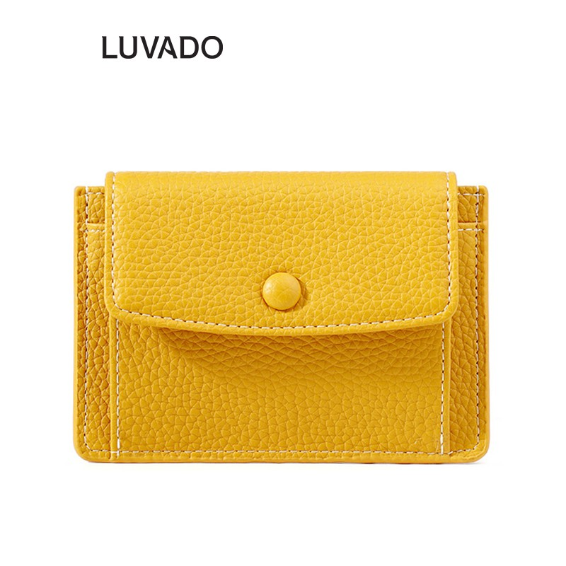 Ví nữ cầm tay mini ngắn TAOMICMIC nhiều ngăn nhỏ gọn bỏ túi cute dễ thương LUVADO VD397