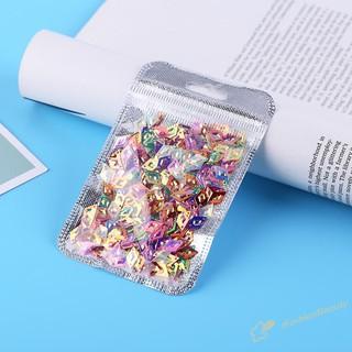 400 hạt kim sa hình kim cương lấp lánh trang trí móng tay