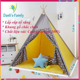 Lều tam giác trẻ em