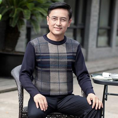 ÁO LEN CHO ÔNG_ co tron