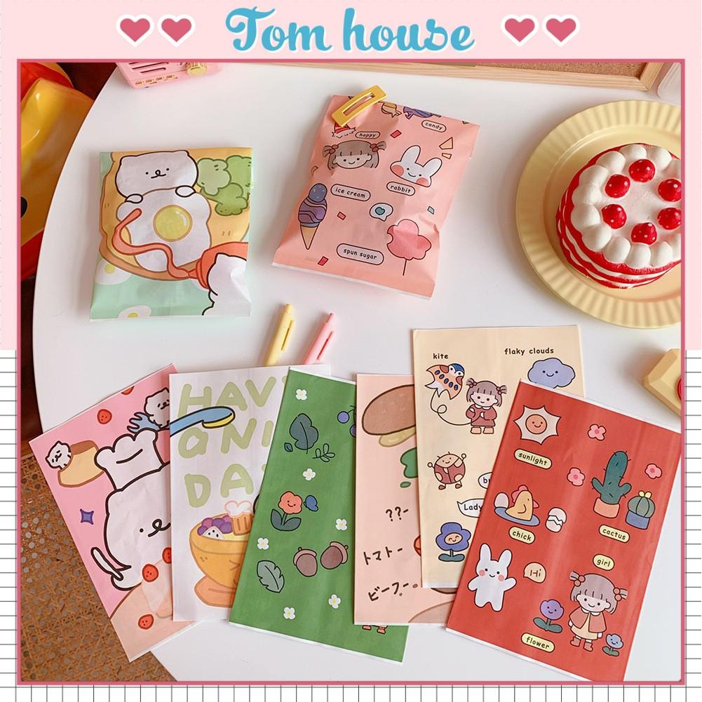 Túi giấy đựng đồ đa năng cô gái Nhật Bản Tom House