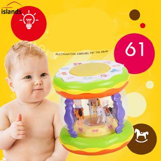 Baby Hand Drum Toy Mini Magic Beat Story Drum Early Childhood Educational Learning Developmental