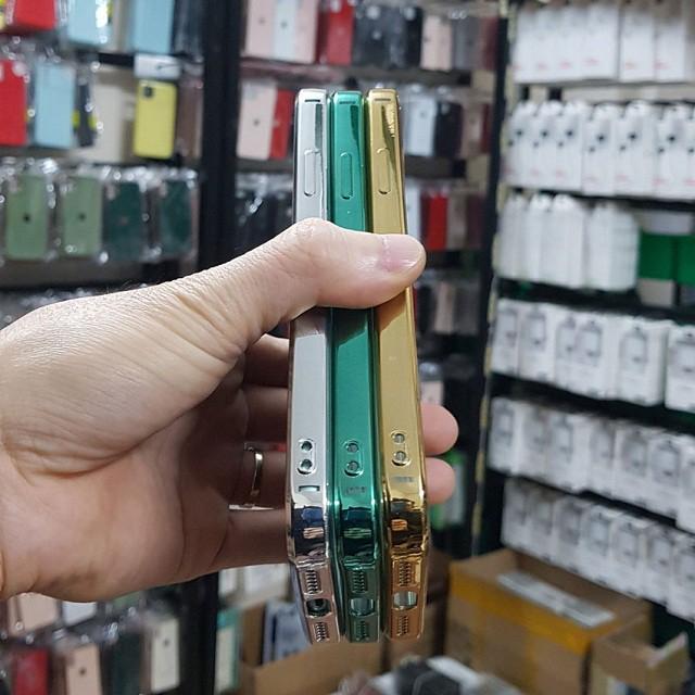 Ốp iphone - Ốp lưng viền vuông, lưng trong dành cho iphone 7plus/8plus/x/xs/xsmax/11/11 pro max/12/12 pro max - Aha Case