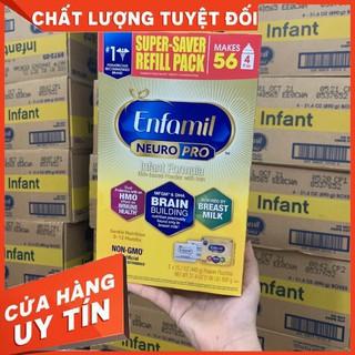 [HÀNG NHẬP AIR] Sữa Enfamil Neuro pro hộp giấy vàng 890g