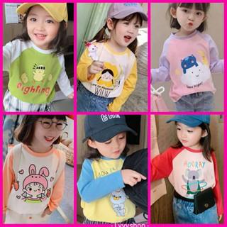 Lyvyshop - (Cotton SG chính phẩm) Áo dài phối tay siêu dễ thương cho bé gái từ 09-28kg