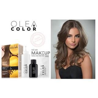 Kem nhuộm dưỡng tóc không Amoniac Olea Color ITALY Màu 7 BLONDE - the gioi makeup pro thumbnail