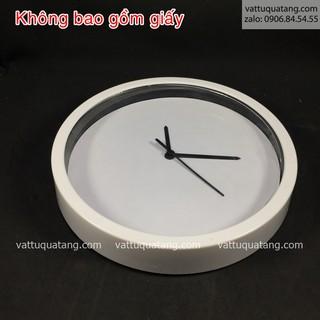 Phôi đồng hồ nhựa tròn 25cm