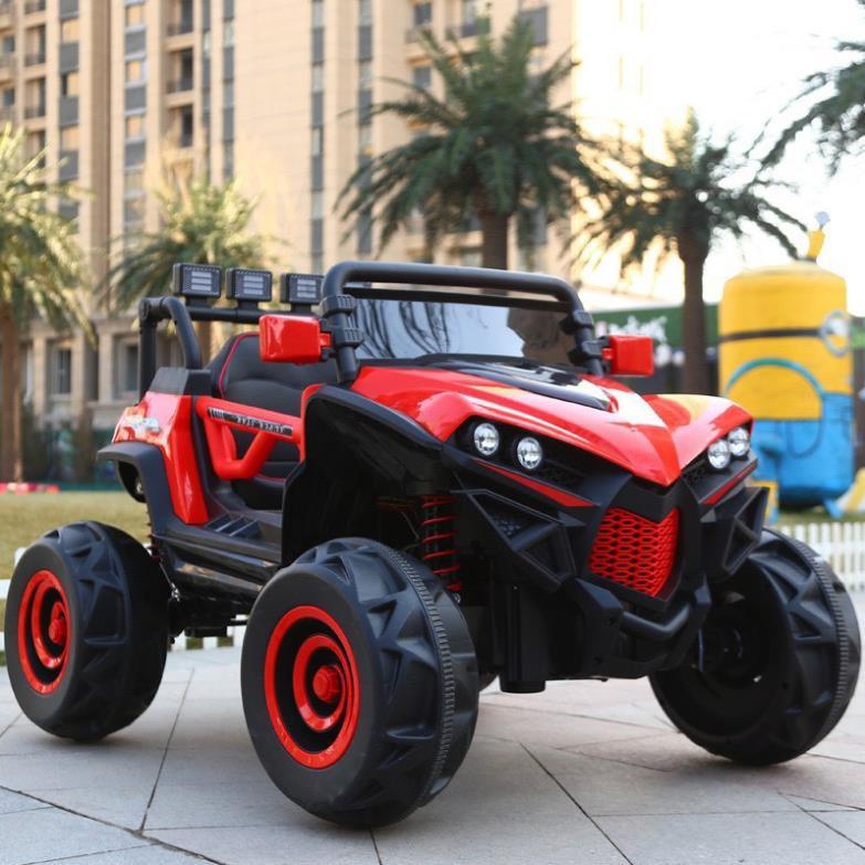 [Siêu] [HOT] Siêu xe Ô tô điện trẻ em siêu địa hình XJL 588 đồ chơi vận động cho bé 2 ghế 4 động cơ siêu phẩm