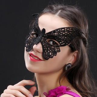 Mặt nạ cosplay ren đen BDSM sang chảnh, quyến rũ 3 mẫu tùy chọn