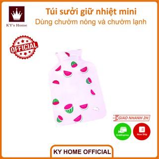 Túi sưởi giữ nhiệt mini chườm nóng lạnh họa tiết hoạt hình làm ấm tay phiên bản Hàn Quốc giá sinh viên thumbnail