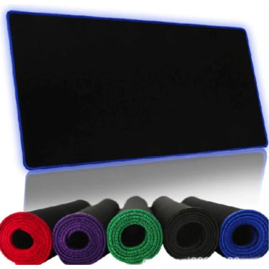 Miếng lót chuột dành game thủ khổ lớn 30x60cm màu đen