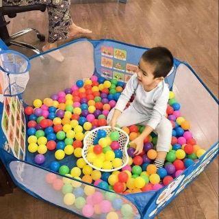 Yêu ThíchLều bóng-quây bóng-nhà bóng- nhà banh tặng kèm 100 bóng cho bé