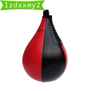 Newest Speed Ball Training Punching Bag Boxing MMA Pear Shaped Exercise Ball Equip.