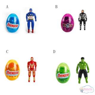 Children Lovely Cool Avengers Transformed Model Egg Toys
