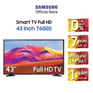 [Mã ELSAMHOT giảm 5% đơn 3TR] Smart Tivi Samsung 43 Inch Full HD UA43T6000AKXXV – Miễn phí lắp đặt