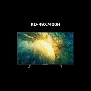 Miễn phí lắp đặt - Android Tivi Sony 4K 49 Inch KD-49X7400H - Hàng Chính Hãng thumbnail