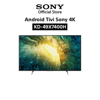 Android Tivi Sony 4K 49 Inch KD-49X7400H – Miễn phí lắp đặt