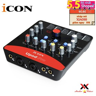 (FREESHIP)TẶNG CÁP IPHONE ]Sound card thu âm /livestream/karaoke ICON Upod Pro