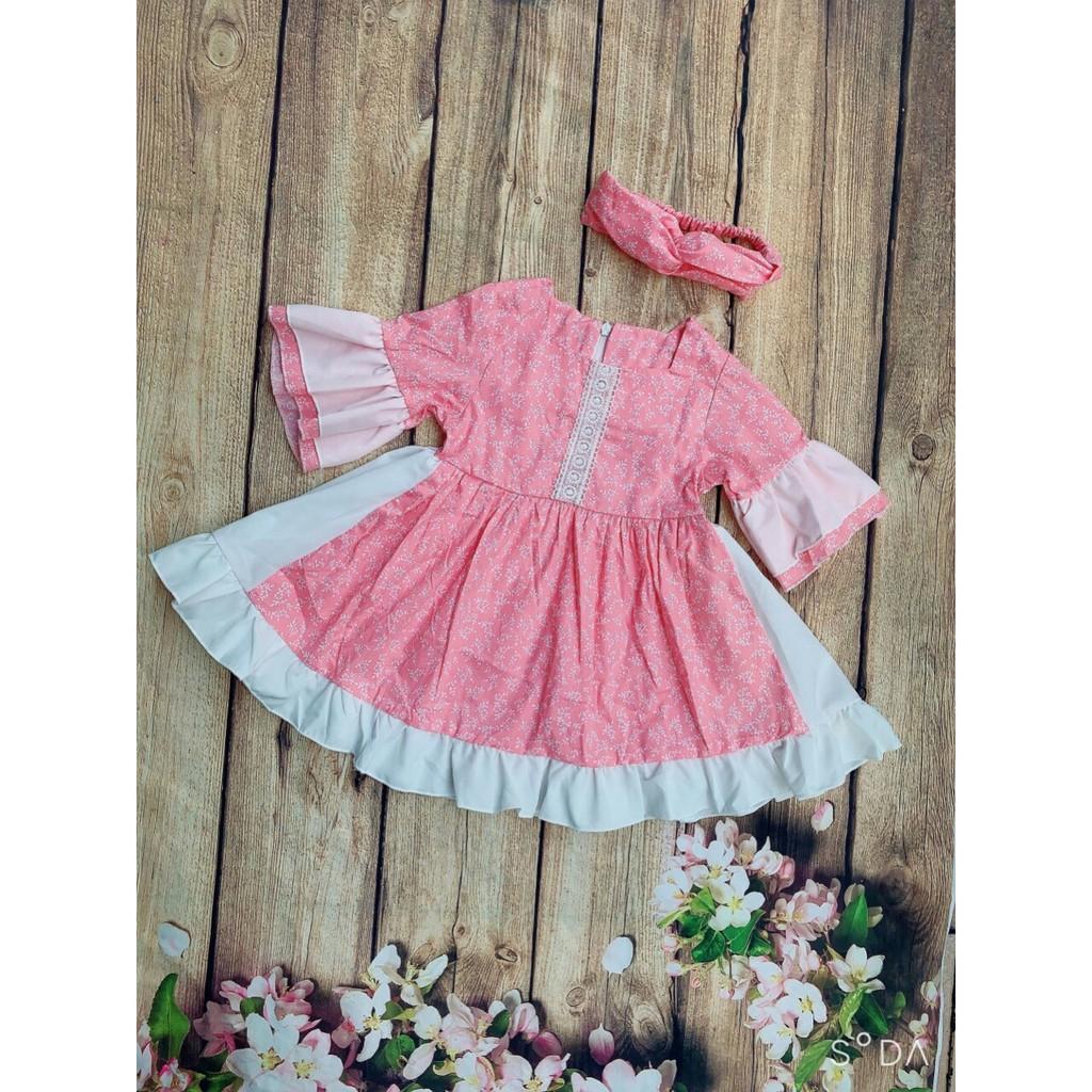 3206008442 - Váy trẻ em [⚡FREESHIP⚡ Đơn Từ 250K] Váy đầm Thời Trang Hàng Thiết Kế Cao Cấp cho bé từ 1 - 8 Tuổi