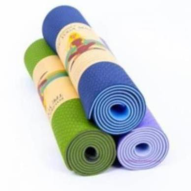 Thảm tập Yoga dày 6mm túi đựng và duy tùy chọn - hàng siêu c