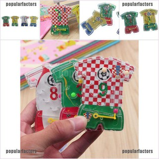 [Popular] 3D Puzzle Maze Jersey Toy Hand Game Case Box Fun Brain Game Kids Toys [Factors]