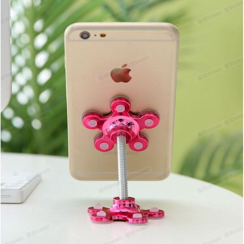 Giá đỡ điện thoại hình cánh hoa siêu dính