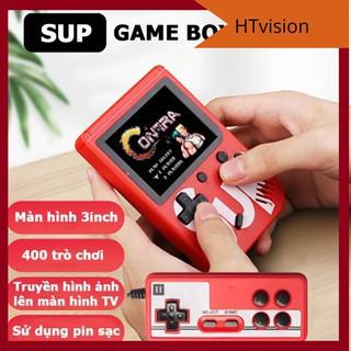 Máy chơi game 4 nút cầm tay 400 trò chơi sup game box 400 in 1 Plus một hoặc hai người chơi thumbnail