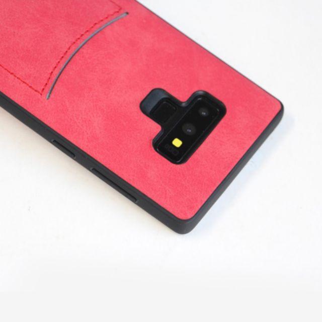 Ốp Note9 vải có ngăn để thẻ ATM