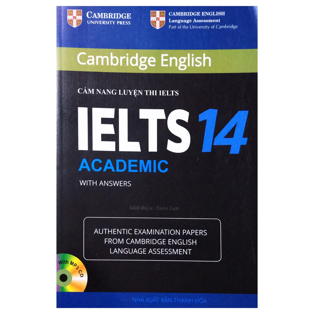 Sách - Cẩm nang luyện thi IELTS 14