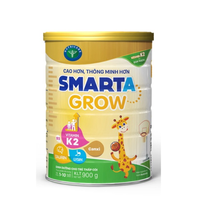 Sữa Smarta Grow cao hơn, thông minh hơn loại 900g   Shopee Việt Nam