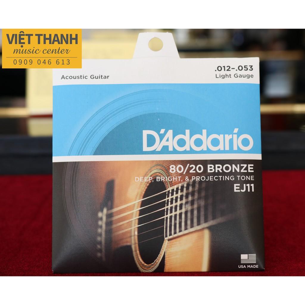 Dây Đàn Guitar D'Addario EJ11 Cỡ 12 Size To Âm Vang Nội Lực