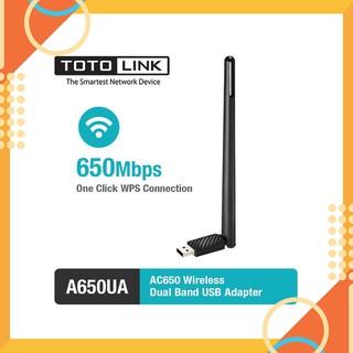 Bộ thu wifi Totolink A650UA 5Ghz Chính hãng thumbnail