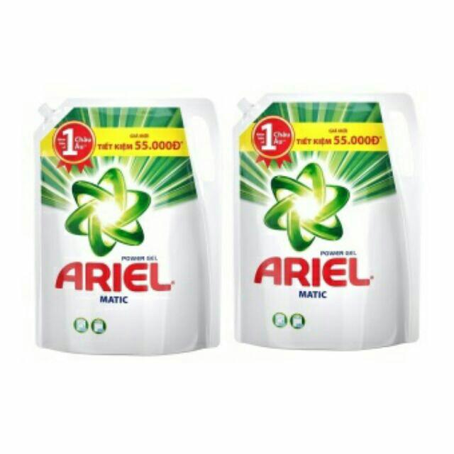 Combo 2 túi Nước giặt ariel đậm đặc 2.4 lit (2.3kg)