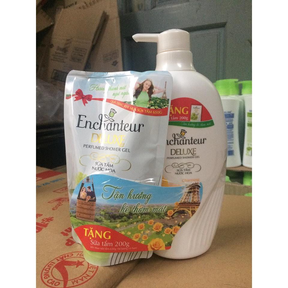 Sữa Tắm Hương Nước Hoa Enchanteur chai 650g
