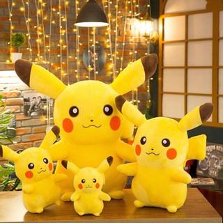 (Hàng nhật) Gấu bông Pikachu các size siêu mịn HQP