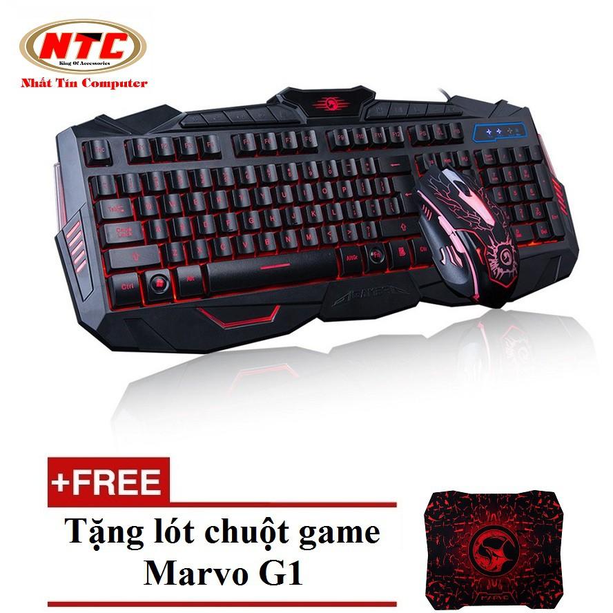 Bộ bàn phím và chuột chuyên Game Marvo KM400 Led 3 màu (Đen) + Tặng lót chuột Marvo G1 - 2495717 , 624629749 , 322_624629749 , 470000 , Bo-ban-phim-va-chuot-chuyen-Game-Marvo-KM400-Led-3-mau-Den-Tang-lot-chuot-Marvo-G1-322_624629749 , shopee.vn , Bộ bàn phím và chuột chuyên Game Marvo KM400 Led 3 màu (Đen) + Tặng lót chuột Marvo G1
